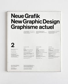 The New Graphic Design