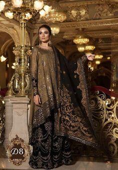 6eeb708e36 Items similar to Maria B Mbroidered Wedding Edition, shalwar kameez,  pakistani fashion on Etsy