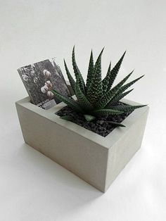 Bunk Cement Flower Business Cards Taiwan (without plants, stones, earth) Cement Art, Concrete Cement, Concrete Crafts, Concrete Projects, Concrete Design, Cement Flower Pots, Concrete Planters, Diy Planters, Diy And Crafts