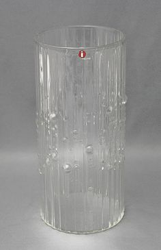 Glass vase, Mesi, Tapio Wirkkala Shopping Places, House Goals, Old Antiques, Scandinavian Design, Finland, Facade, Mid-century Modern, Glass Vase, Mid Century