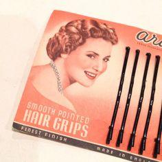 Vintage 1950s Aristocrat Hair Grips - Deadstock