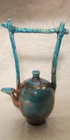 Raku Tea Pot