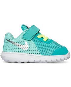 Nike Toddler Girls Flex Experience 5 Velcro Running Sneakers from Finish Line | macys.com