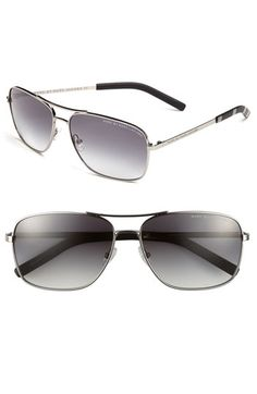 Aviator sunglasses via Marc by Marc Jacobs