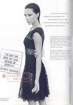 Victoria Beckham by Sølve Sundsbø for Love Magazine