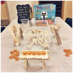 Kindergarten Halloween Activities Five Little Pumpkins STEM Challenge A Pinch of Kinder is part of Stem activities kindergarten - Halloween Activities, Stem Activities, Halloween Themes, Spooky Halloween, Halloween Science, Halloween Celebration, Défis Stem, Five Little Pumpkins, Kindergarten Stem