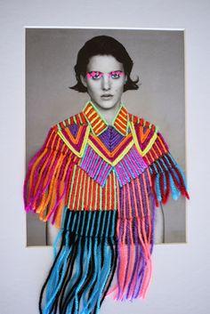 Victoria Villasana – Whimsical Embroidery Portraits