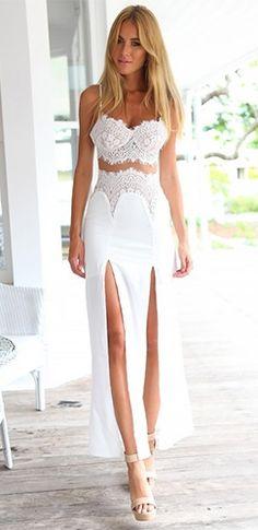 3b4c47f5510 54 Best High slit dresses images