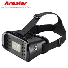 "Arealer VR Virtual Reality Glasses 3D Glasses Headset Movie Game Glasses for iPhone for Samsung / for All 3.5 ~ 6.0"" SmartPhones //Price: $19.23//     #shopping"