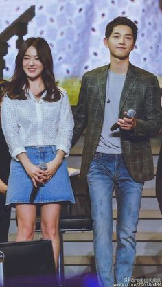 Song Hye-kyo and Song Joong-ki Korean Actresses, Korean Actors, Actors & Actresses, Drama Korea, Korean Drama, Descendants, Korean Celebrities, Celebs, Kdrama