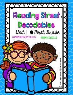 This file contains all 18 decodables for the Reading Street Unit 1! I have turned each decodable into a 2 page activity that can be done whole group, small group, with partners or independent.  The first page contains the story and practice with the phonics skill for the story.
