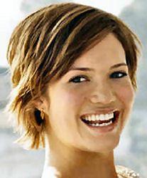 Mandy Moore haircut