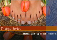 The Thai Herbal Ball is a compress filled with a mixture of 12 healing herbs. This is quickly becoming the most popular new treatment in spas around the world. The Traditional Thai protocol is a 3-step procedure which includes pressure points along the sen sib lines or meridians, application of the herbal ball along those same lines, and a finishing massage using Thai-inspired aromatherapy oils of jasmine and