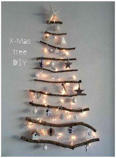 DIY Christmas tree - Op mijn blog lees hoe je zelf deze kerstboom kun maken!