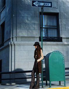 Elle France     September 2015 Photography :  Kerry Hallihan Model : Sabrina Ioffreda