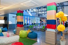 The places we'll go Event Management, Conference, Bean Bag Chair, Group, Places, Fun, Furniture, Design, Home Decor
