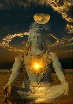 Shiva- The Supreme Lord of Yoga. The great lord of yoga, Adi Yogi (Shiva) as the supreme reality to awaken his power within us . Hindu Shiva, Shiva Shakti, Hindu Deities, Hindu Art, Shiva Angry, C G Jung, Shiva Photos, Rudra Shiva, Lord Shiva Hd Images