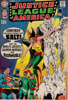Justice League of America 72 June 1969 Issue DC by ViewObscura