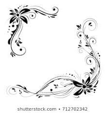 Daisy Clip Art Black And White Google Search Avec Images