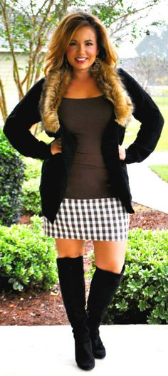 Perfectly Priscilla Boutique - Fur-ever And Ever Cardigan, $37.00 (http://www.perfectlypriscilla.com/fur-ever-and-ever-cardigan/)