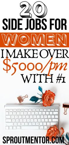 FREE TRANING Are you a woman looking for ways to make money online? Here are 20 small business ideas for women. They are also ideal jobs for housewives and stay at home moms. Make Money Fast Online, Ways To Earn Money, Earn Money From Home, Money Tips, Way To Make Money, How To Make, Work From Home Opportunities, Work From Home Jobs, Jobs For Housewives