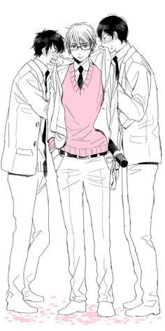 When Miyuki graduates :'((((((
