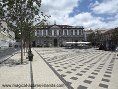 In Angra do Heroismo, Terceira. Portugal