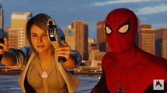 Ps4, Black Silver, Spiderman, Heaven, Marvel, Superhero, Fictional Characters, Spider Man, Ps3