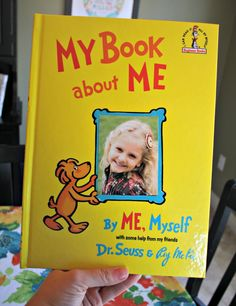 Book about me, BEST gift for kids. I still have mine in the attic at Mom and Dads!