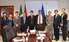 La experiencia educa: Recibe secretario de Educación del Gobierno de Jalisco a su homólogo de Shanghái
