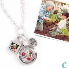 Personalized Mother's Day #Gifts from #OrigamiOwl. Order now! Custom engraving takes up to 14 business days! #mothersday #mothersdaygifts www.keller.origamiowl.com #grandma #gardening