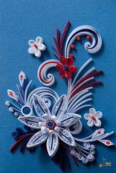 Neli is a talented quilling artist from Bulgaria. Her unique quilling cards bring joy to people around the world. Quilling Work, Neli Quilling, Quilling Craft, Quilling Flowers, Quilling Patterns, Quilling Designs, Paper Quilling, Toilet Paper Roll Art, Rolled Paper Art