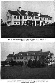 The Edmund S. Twining residence designed by William Adams c. 1910.
