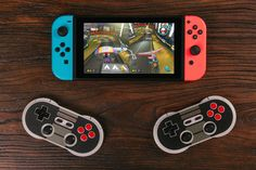 retro Bluetooth controllers now work with Nintendo Switch – TechCrunch Nintendo Switch Game Console, Nintendo Switch System, Nintendo Switch Games, Xbox, Playstation Games, Ps3 Games, Nintendo 3ds, Nintendo Consoles, Games Consoles
