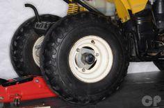 Suzuki LT80 Tire Removal