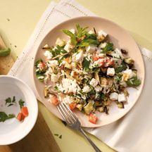 Lauwarmer Reissalat mit Schafskäse PP 7