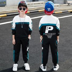 Clothing Sets, Big Boys, Outfit Sets, Sportswear, Handsome, Letters, Suits, Children, Sweatshirts