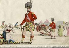 Highlanders in Paris 1815
