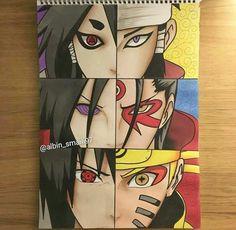 by Alzubair about Naruto Shippuden Naruto Anime, Naruto Sasuke Sakura, Naruto Shippuden Anime, Naruto Art, Boruto, Kakashi Sharingan, Naruto Sketch, Naruto Drawings, Anime Eyes