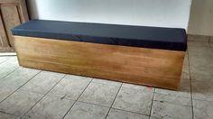 banco baú de pallet 1,60 cm
