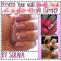 PREVENT YOUR NAiLS FROM CHiPPING! by totally-tipsy-girls on Polyvore