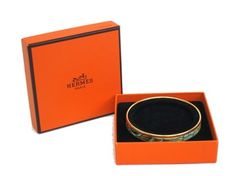 HERMES Enamel Bangle Cloisonne/palladium. Get the lowest price on HERMES Enamel Bangle Cloisonne/palladium and other fabulous designer clothing and accessories! Shop Tradesy now