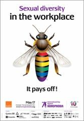 FREE International Day Against Homophobia Posters on http://www.icravefreebies.com