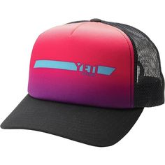 68b141106ce Yeti Cycles Yeti Dart Foam Trucker Hat (480 UAH) ❤ liked on Polyvore  featuring