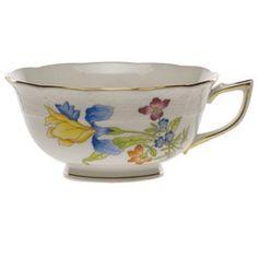 Herend Antique Iris Tea Cup