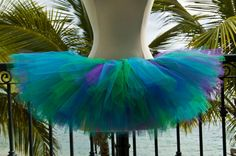 Adult Tutu  Blue Green and Purple by tutuabell on Etsy, $26.99@jenna_bryan03