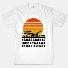 Lion King: Circle of Life T-shirt. When I go to Africa, I'll wear this lol. Cool website though, has a lot of the statement shirts you see on pinterest