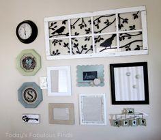 Key in Gallery wall