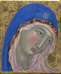 Guillem Ramos-Poquí's Research on the Techniques of Early Italian 13th -15th century painting. egg tempera. Gesso, water gilding techniques