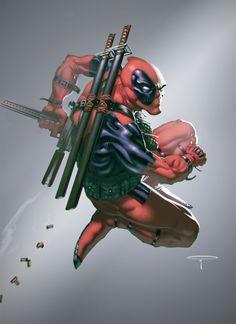 Deadpool by Angel Palacios
